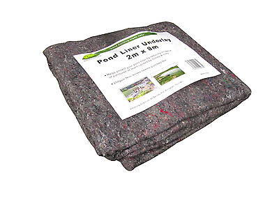 Pond Liner Underlay. 200gsm weight. Protects your Pond Liner. Free Next Day P&P