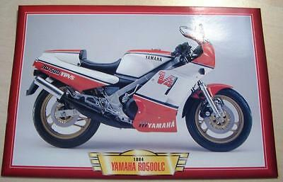 Yamaha Rd500Lc Rd500 Lc V4 Classic Motorcycle Sports Bike 1980's Picture 1984