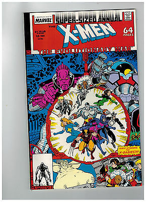 X-MEN ANNUAL Vol 1 #12  NM-  The Evolutionary War           / 1988 Marvel Comics