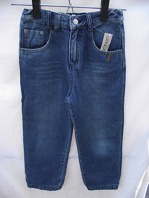 BNWT Boys Sz 12 YCC Designer Blue Dirty Denim Crushed Look Jeans RRP $60