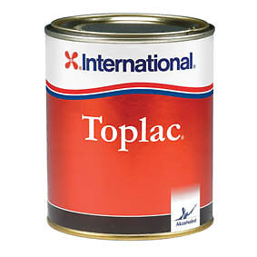 International Toplac Yacht/Boat Enamel Paint. 750ml. Snow White