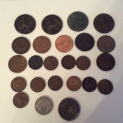 Great Britain. Coins 1860 - 1966 various listed