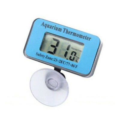 Mini Digital LCD Aquarium Fish Tank Waterproof Temperature Thermometer Meter US