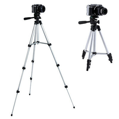 """Neewer 42""""/106cm Aluminium Tripod With 3 Way Pan Head for Camera Camcorders"""