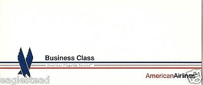 Ticket Jacket - American - Business Class - Flagship Service - White (TJ462)