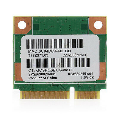 Wi-Fi Wireless 150M Network Card Bluetooth for HP Pavilion G7-2000 Ralink RT3290