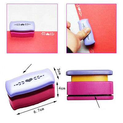 10 Styles Creative DIY Punch Cutter Craft  Tool  Embossed Border Paper Punch YG