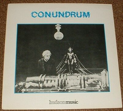 MUSIC LIBRARY HUDSON conundrum ASTRAL SOUNDS 1984 UK STEREO ELECTRONIC STEREO LP