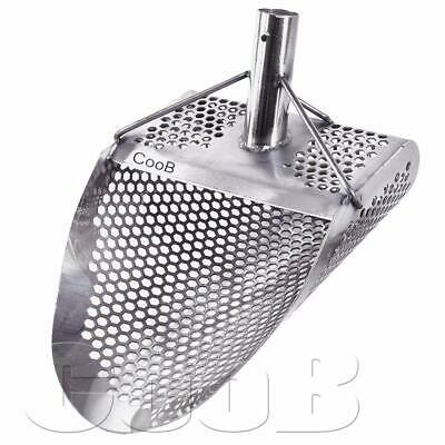 *HEXAHEDRON -7mm* Stainless Steel Beach Sand Scoop Metal Detecting Hunting Tool