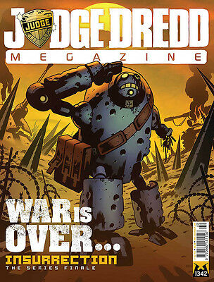 JUDGE DREDD Megazine #342 - 17 December 2013 - NEW