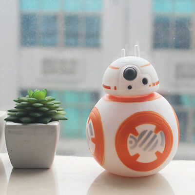 "Color Changing LED Star Wars BB-8 6"" Action Figure Saving Money Box Piggy Bank"
