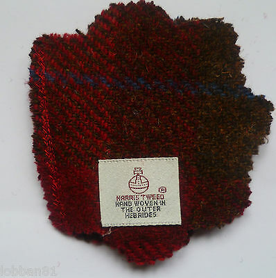 Pin & Needle Holder Harris Tweed from the Outer Hebrides Brand  New