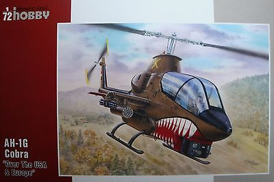"""SPECIAL HOBBY 72278  AH-1G Cobra """"Over USA and Europe"""" in 1:72"""