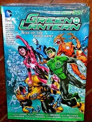 Green Lantern: Rise of the Third Army by Geoff Johns (2013, Hardcover)
