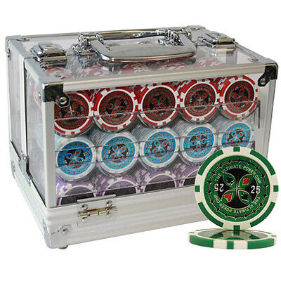 600pcs 14G ULTIMATE CASINO POKER CHIPS SET with CHOOSE DENOMINATION