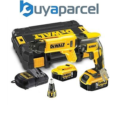 Dewalt DCF620P2K 18v XR Li-Ion Brushless Collated Drywall Screwgun Autofeed 5.0