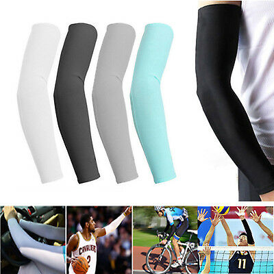 1/2/3/5 Pairs Cooling Arm Sleeves Cover UV Sun Protection Basketball Sport