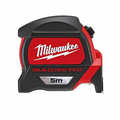 Milwaukee 5m Measuring Tape with Dual Magnetic Hook and Architect Scale 48225305
