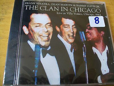 The Clan In Chicago Live At Villa Venice Chicago 1962 Cd Sigillato Raro Sinatra