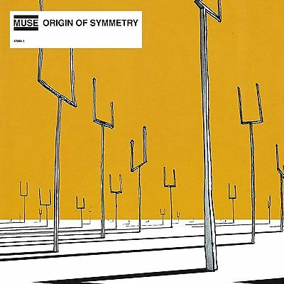 Muse 'origin Of Symmetry' 2 X 180G Vinyl Lp Reissue - New & Sealed