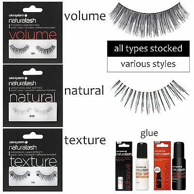 Eye Lash Strips Naturalash Salon System Natural lash ALL TYPES STOCKED
