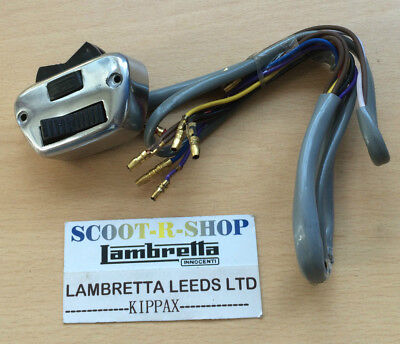 Lambretta Series 3 Li Horn - Dip - Dipper Light Switch - Ac -  . Brand New