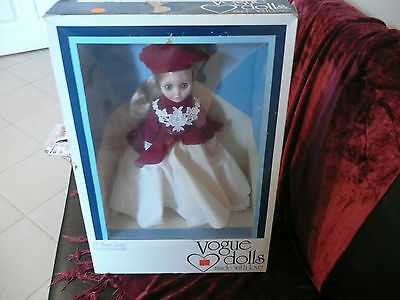 Vintage VOGUE DOLL Made With Love 1977 15 INCH MISS GINNY Pretty & Poseable