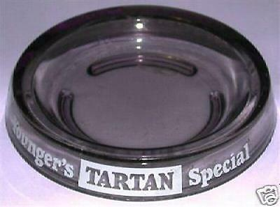 ASHTRAY BEER GLASS ASHTRAY YOUNGER'S TARTAN SPECIAL McEWAN'S EXPORT
