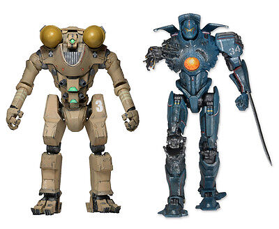 "PACIFIC RIM - 7"" Series 6 Jaeger Action Figure Set (2) by NECA #NEW"