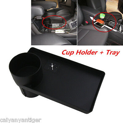 Car Auto Storage Organizer Travel Drink/Coffee Cup Holder Table Stand Food Tray