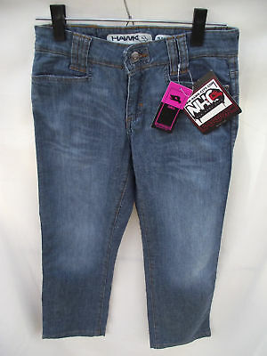 BNWOT Girls Sz 9 Piping Hot Embroidered Teal Soft Cord Boot Leg Jeans RRP $32.99