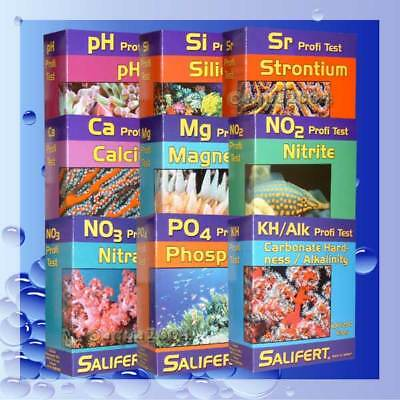+Salifert Bundle NO3+PO4+ KH+CA+MG+NO2+ PH+SI+SR Testset