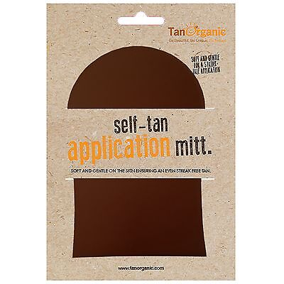 NEW Tan Organic Self Tanning Mitt FREE P&P