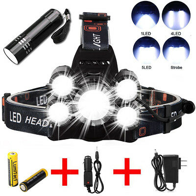 Phixton 20000LM 5Modes ZOOMable XML T6 LED 18650 Police Emergent Flashlight