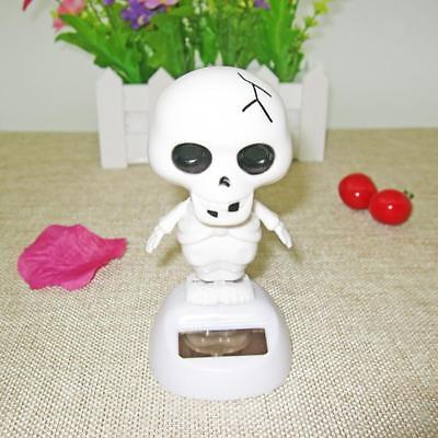 Dancing Skull Solar Powered Toy Office Desk Home Decor Birthday Gifts