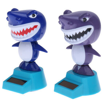 Dancing Shark Solar Powered Toy Office Desk Home Decor Birthday Gifts