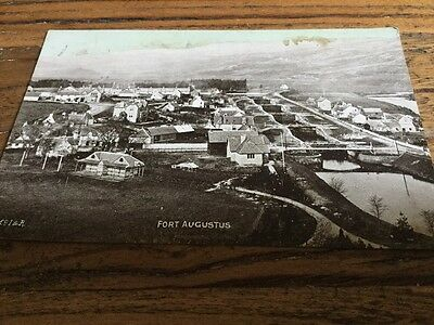 Old Postcard .  Fort Augustus (marked)