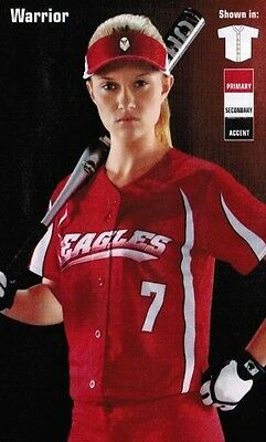 WOMENS Softball JERSEYS Adult TOP CUSTOM Sublimated LADIES Logo Numbers INCLUDED