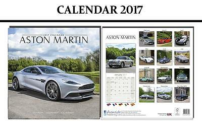 Aston Martin Cars 2017 Square Calendar - Brand New And Sealed By Avonside