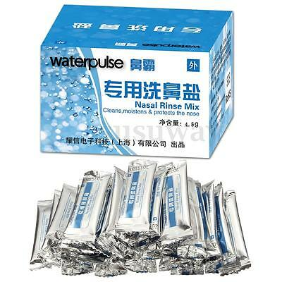 30pcs*4.5g Nose Nasal Wash Cleaner Salt Adult Avoid Allergies Rinse Health Care