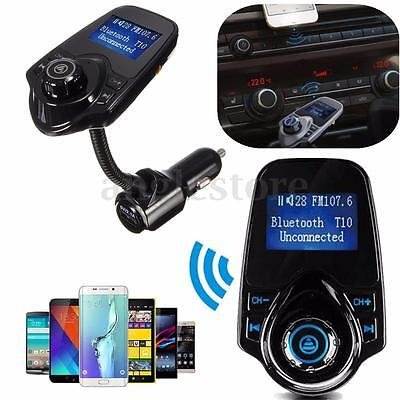 12-24V Bluetooth Handsfree Car Kit MP3 Player 3.5mm Audio Cable USB Charger