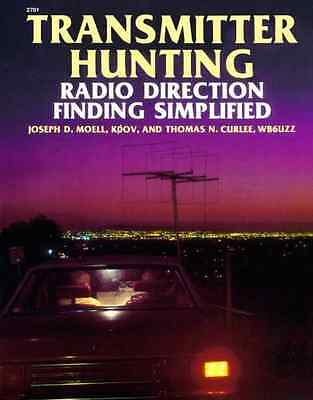 Transmitter Hunting: Radio Direction Finding Simplified - Moell, Joseph D NEW Pa