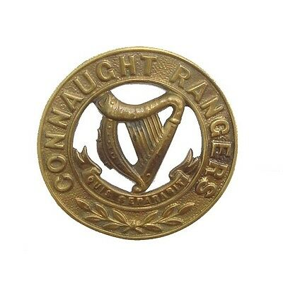 Victorian The Connaught Rangers Helmet Plate Centre