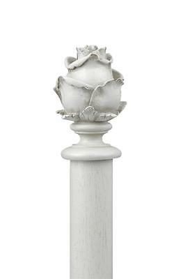 Rose FRENCH Laura end Finial slight seconds for curtain poles by Ashley
