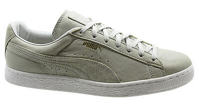 88d7c7864bd8ca Puma States Mens Trainers Grey Leather Lace up Unisex Low Shoes 358810 03  U97