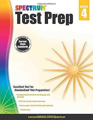 Spectrum Test Prep, Grade 4 - Paperback NEW Spectrum (Autho 2015-01-05
