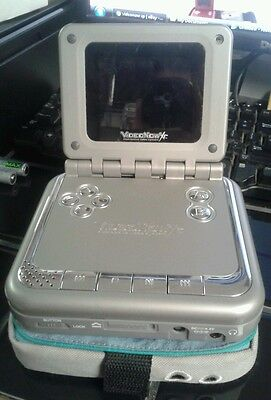 Videonow XP (SILVER) & Carrying Case 2005 Hasbro 2 C285B 52361 Video Now