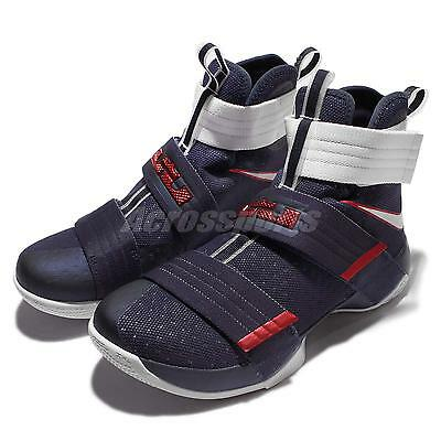 Nike Lebron Soldier 10 SFG EP X James Strive for Greatness USA Mens 844379-416