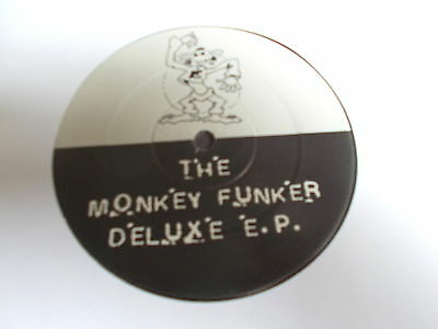 "Masters Of The Monotonal Groove Monkey Funker Deluxe EP 12"" 3 Beat Music 1992"
