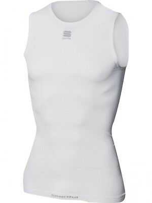Sportful Active 100 Sleeveless fahrrad-funktionsunterhemd 0800223 White